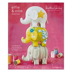 Heather Bailey Effie & Ollie Elephant Toy Pattern