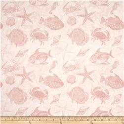 Seaside Wonders Toile Coral