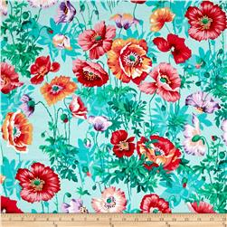 Classic Floral Shirley Poppies Spring