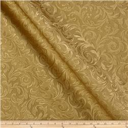 Textured Vinyl Florence Gold