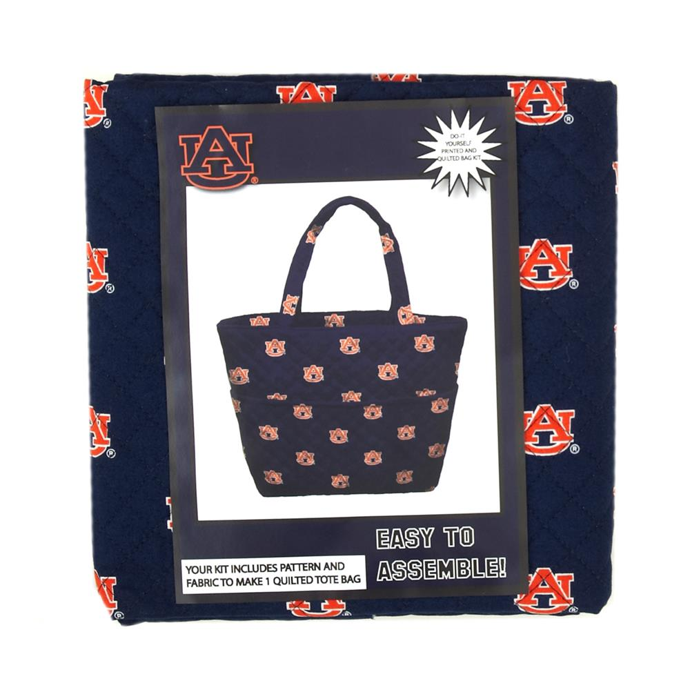 Collegiate Quilted Tote Auburn University