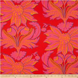 Kaffe Fasset Sateen Brandon's Brocade Red