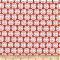 Cotton + Steel Welsummer Chicken Wire Poppy