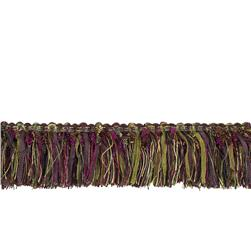"Fabricut 2.25"" Barista Brush Fringe Berry"