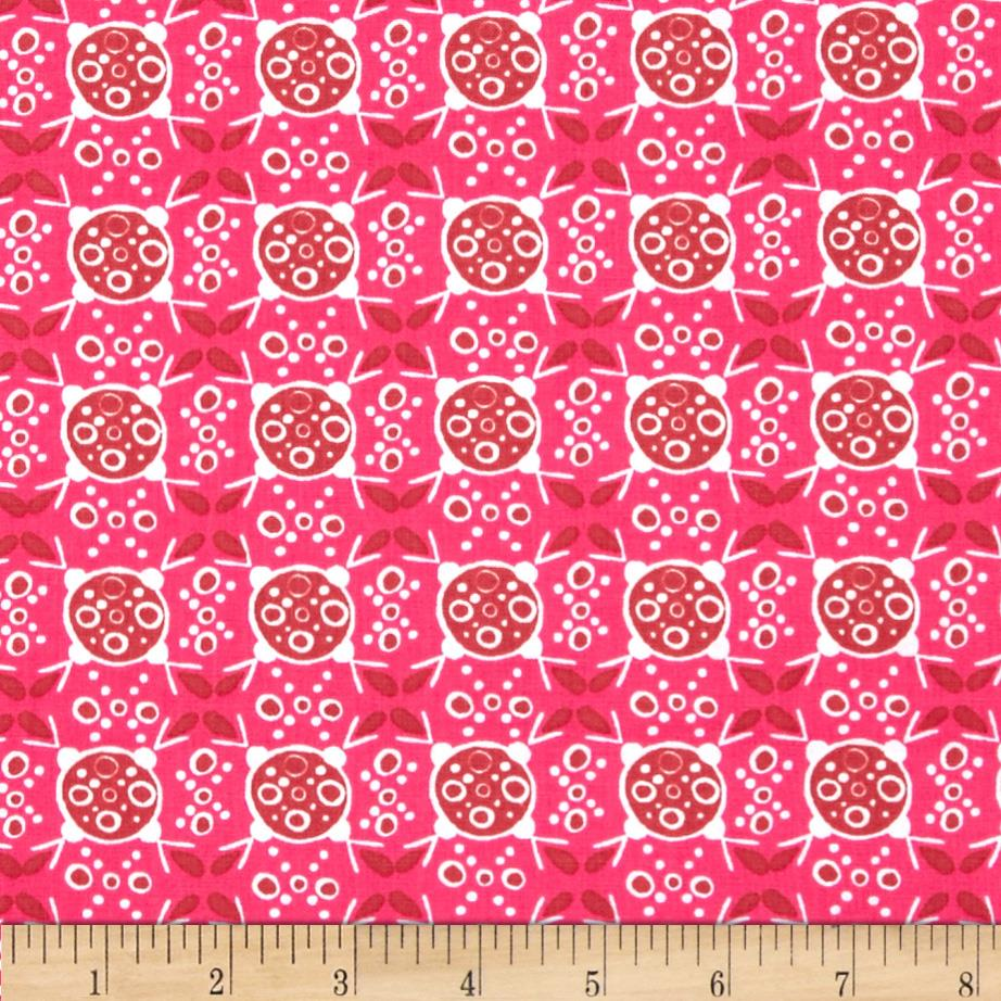 Valori Wells Ashton Road Geo Plaid Raspberry