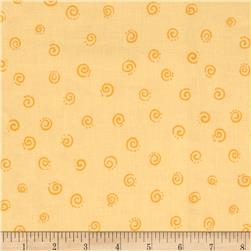 Lyon Small Swirls Yellow
