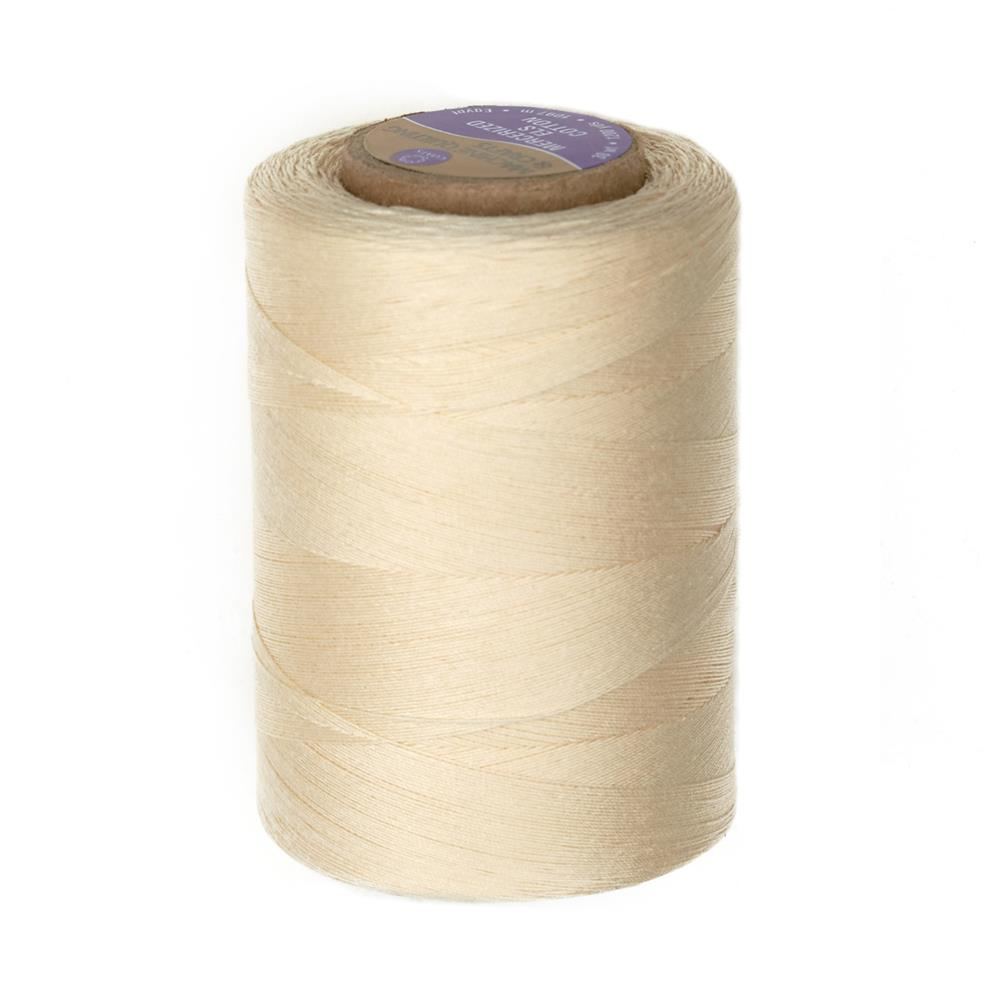 Cotton Machine Quilting Thread 1200 YD Eggshell Cream