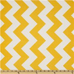 Riley Blake Chevron Large Yellow