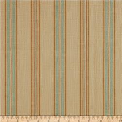 Richloom Soiree Canvas Stripe Mist