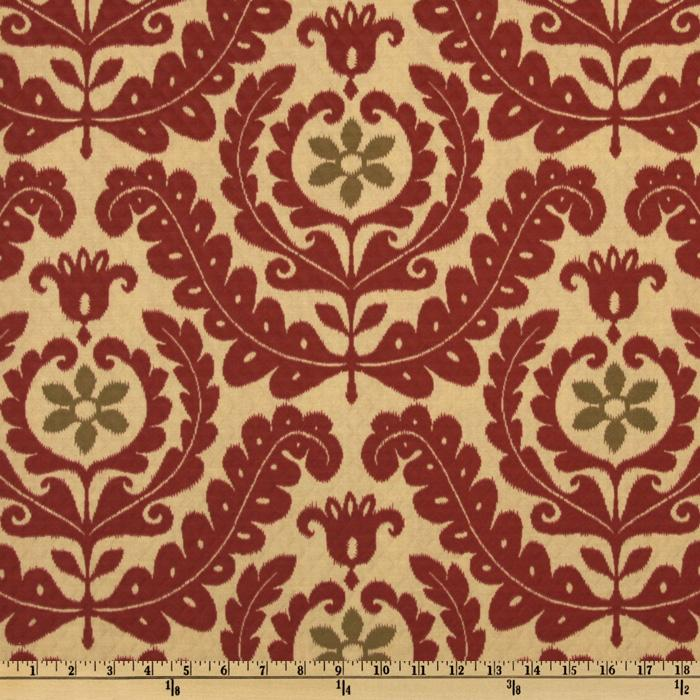 Waverly Sun N Shade Quilted Meridian Medallion Henna
