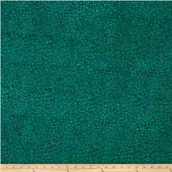 Bali Batiks Handpaints Static Dots Emerald
