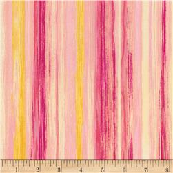 Timeless Treasures Muse Brushstroke Stripe Multi