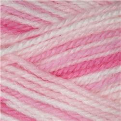 Lion Brand Jamie Yarn (201) Pink Stripes