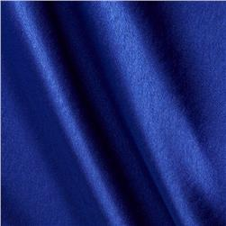 Poly Crepe Back Satin Royal Fabric