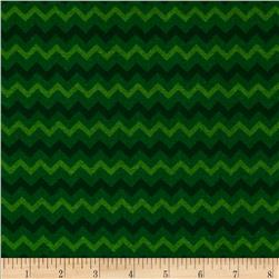 Chevron Tonal Green