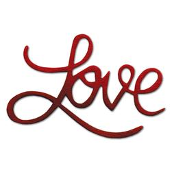 Sizzix Originals Die Phrase, Love Medium