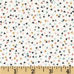 Sophia Mini Triangles White/Multi