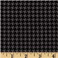 Michael Miller Tiny Houndstooth Charcoal