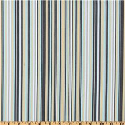 Michael Miller Baby Play Stripe Sea Fabric