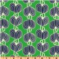 Amy Butler Lark Glamour Chinese Lanterns Grass Green