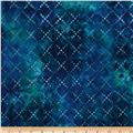 Artisan Batiks Color Source 4 Diamond Grid Surf