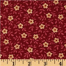 Bread and Butter Petite Floral Red
