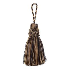 "Trend 4.5"" 01365 Cushion Tassel Walnut"