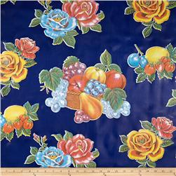 Oil Cloth Limones Blue