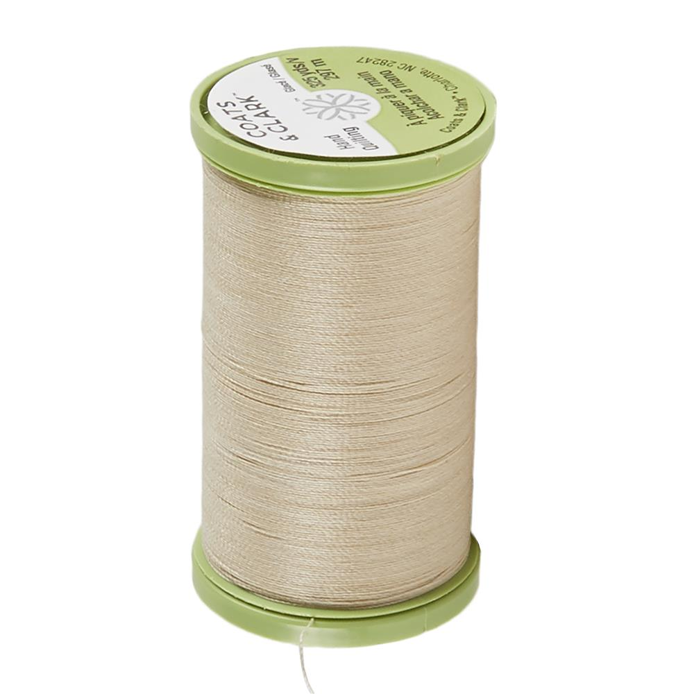 Coats & Clark Dual Duty Plus Hand Quilting Thread 325 Yds.Ecru