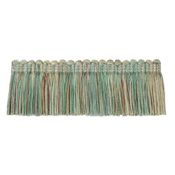 "Jaclyn Smith 2"" 01875 Brush Fringe Aqua"