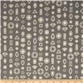 Cotton & Steel Lawn Moonlit Gems Gray