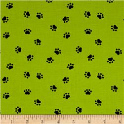 Spots Perfect Day Paws Green