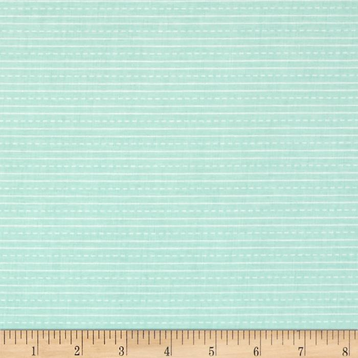 Riley Blake School Days Stripe Mint