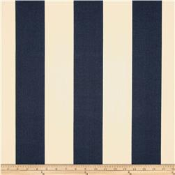 Premier Prints Indoor/Outdoor Vertical Stripe Deep Blue