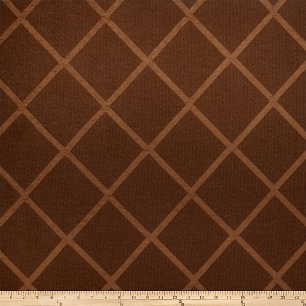 Trend 2082 Faux Silk Chocolate