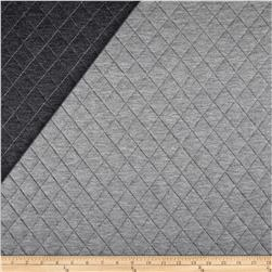 Telio Loft Pre-Quilted Reversible Knit Grey/Dark Grey