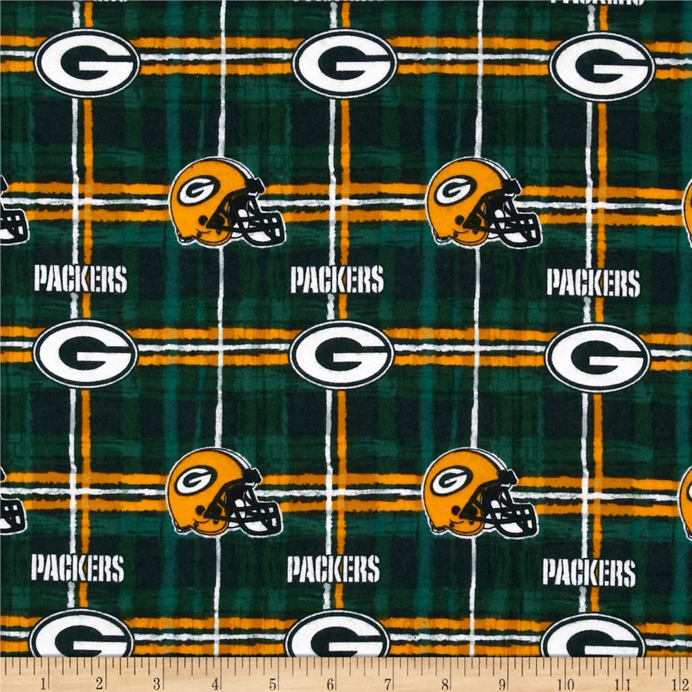 NFL Flannel Green Bay Packers Green/Yellow