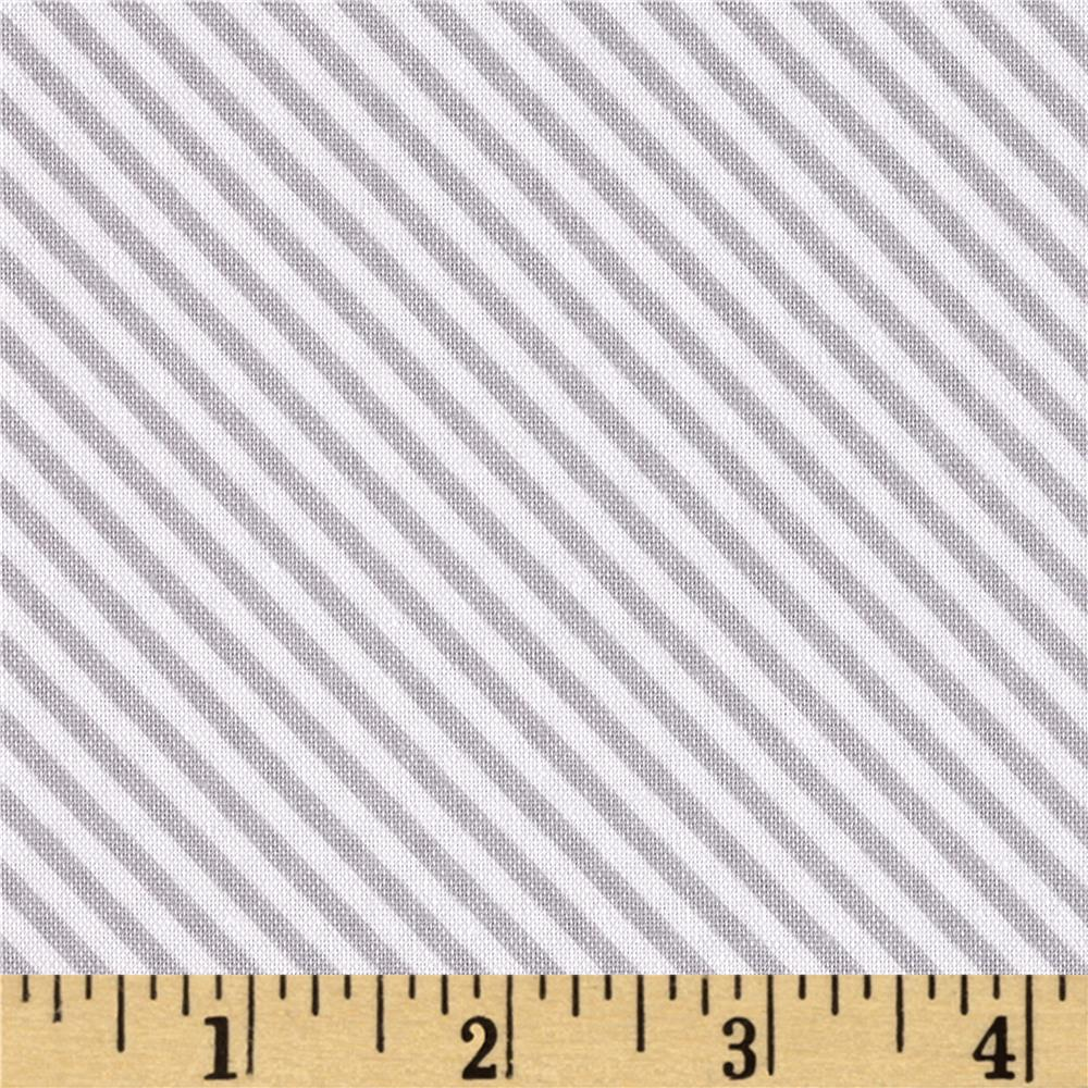 Riley Blake Sweet Orchard Stripe Gray