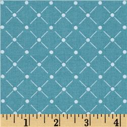 Rise & Shine Lattice Teal