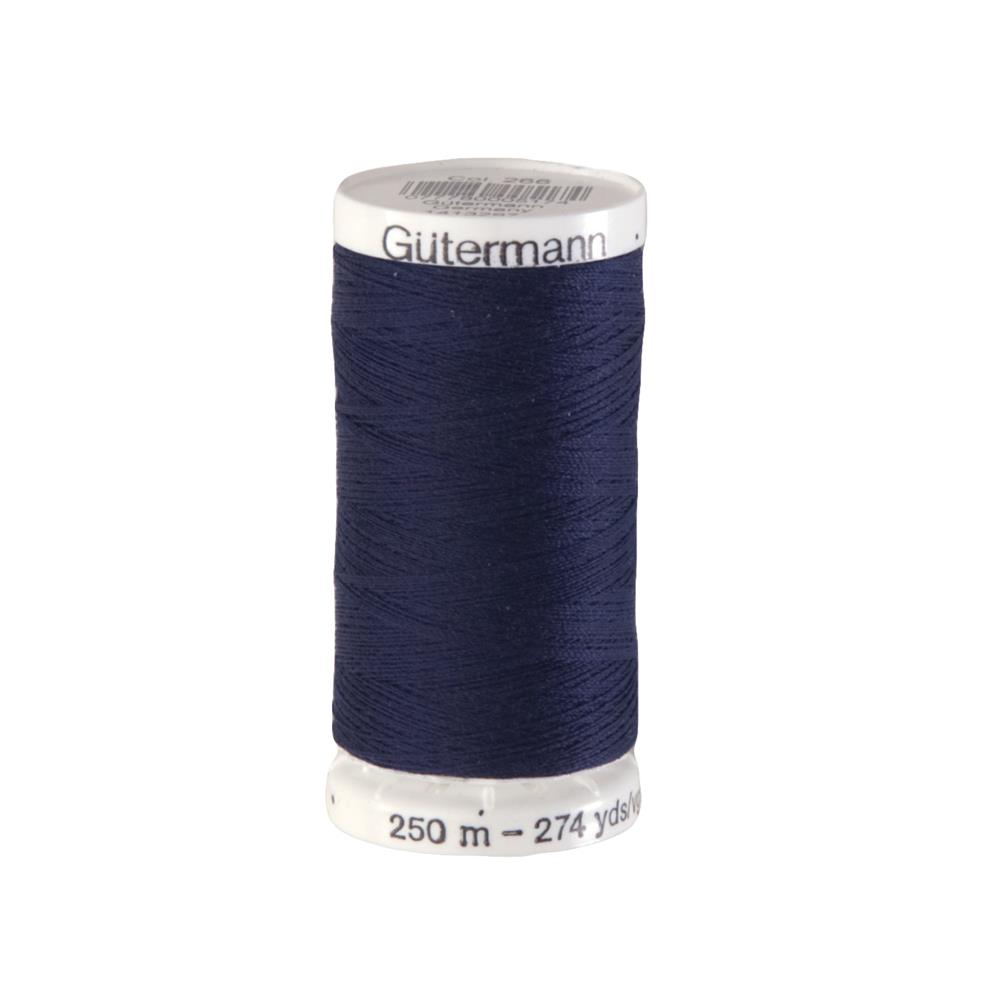 Gutermann Sew-all Polyester All Purpose Thread 250m/273yds Bright Blue