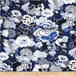 Duralee Home Kiji Twill Navy
