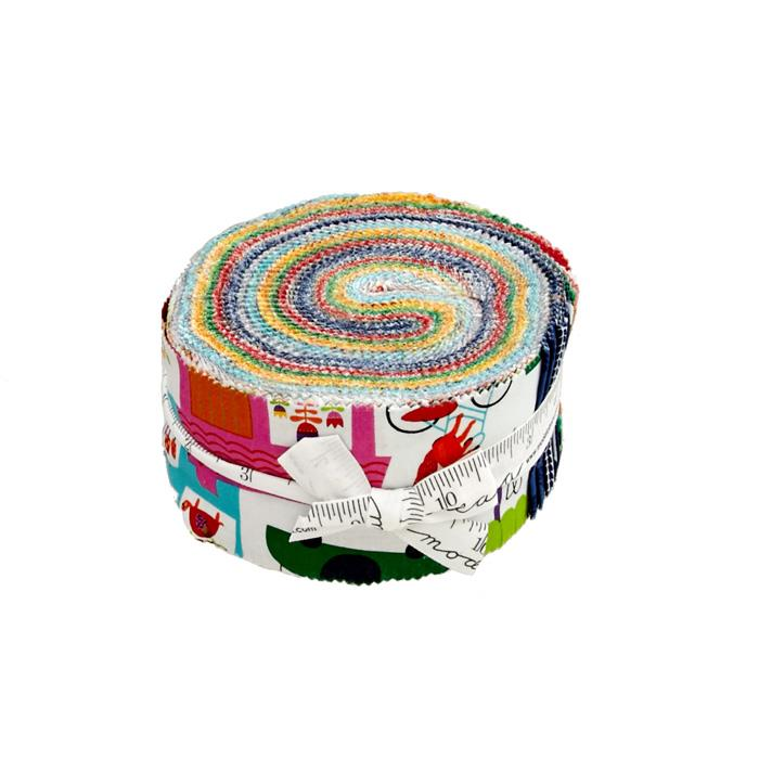 Moda Hello Friend 2.5 In. Jelly Roll Multi