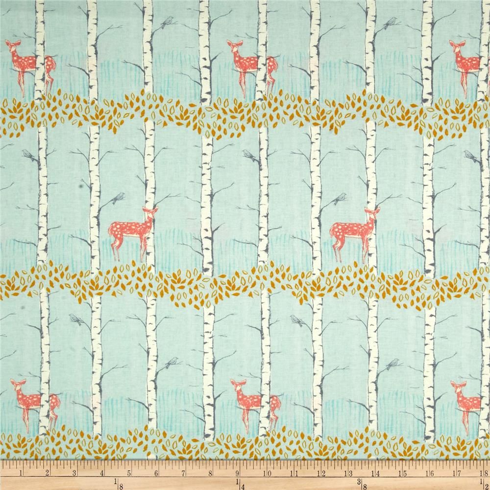Timber & Leaf Fawn in Birch Blue