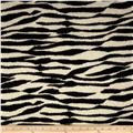 Stretch Tissue Hatchi Knit Zebra Black/Tan