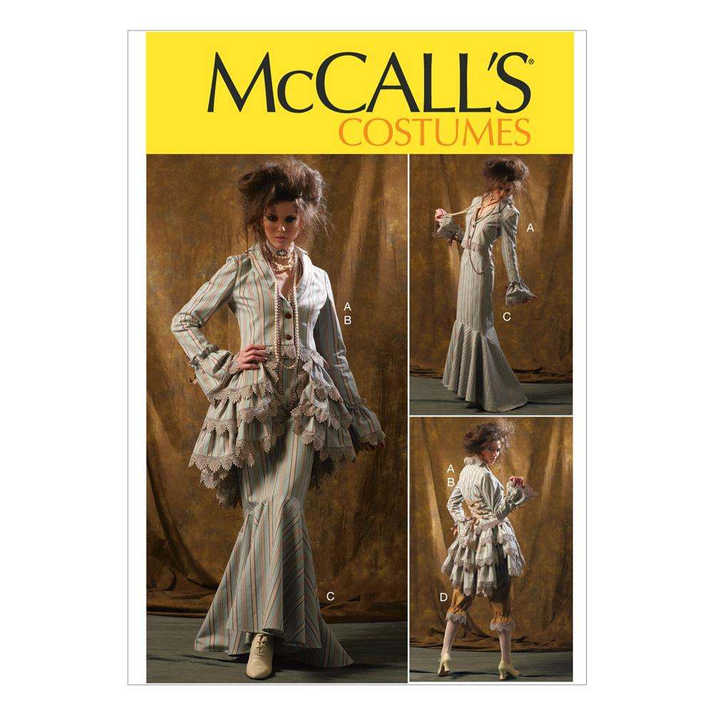 McCall's Misses' Jacket, Bustle/Capelet, Skirt and Pants Pattern M6770 Size AAX