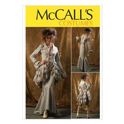 McCall's Misses' Jacket, Bustle/Capelet, Skirt and Pants Pattern