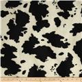 Velboa Faux Fur Cow Black/White