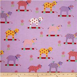 Moda Celebration Little Lambs Lavender