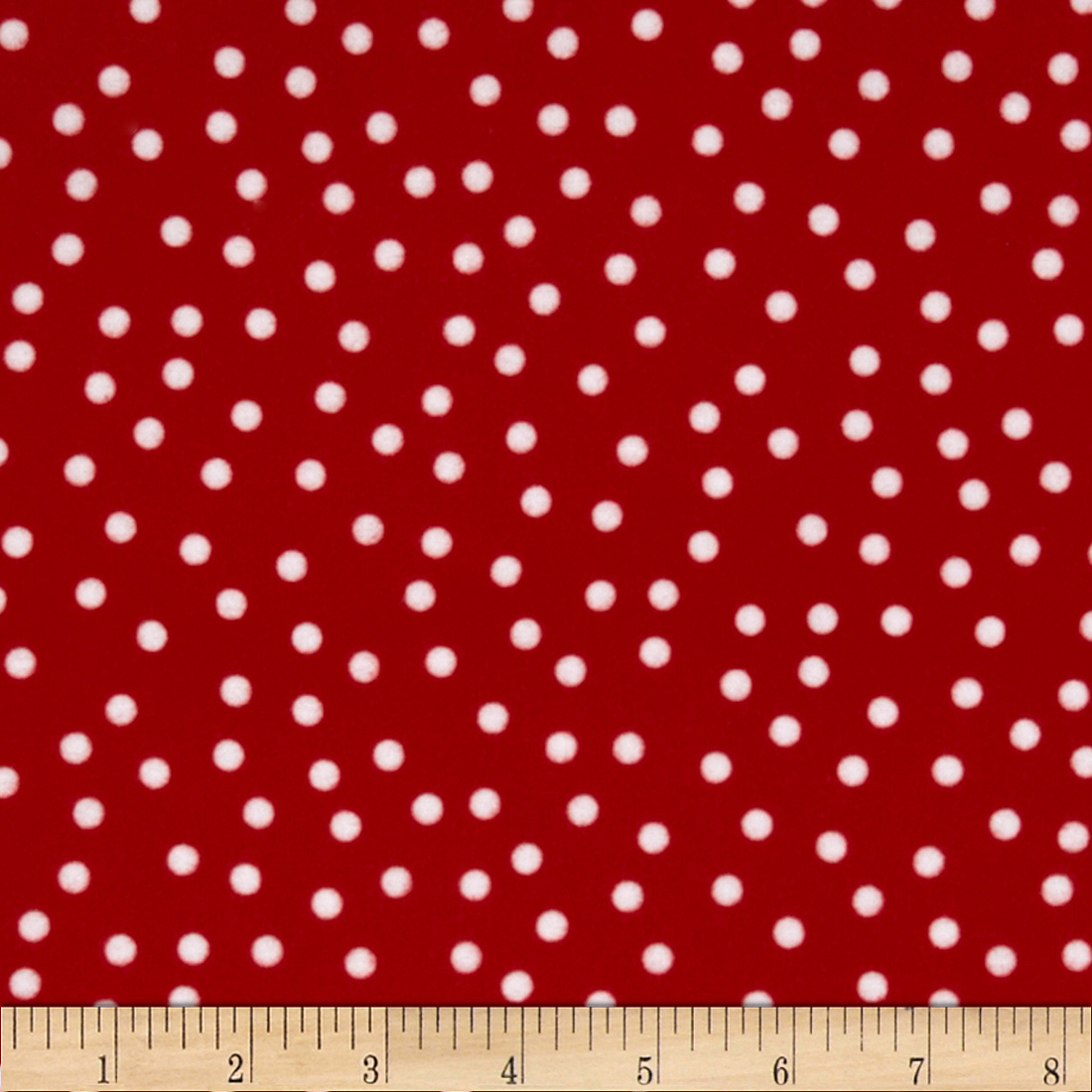 Remix Flannel Dots Cherry