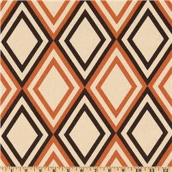 Premier Prints Annie Sweet Potato/Natural Fabric